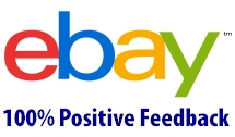 eBay 100% Positive Feedback