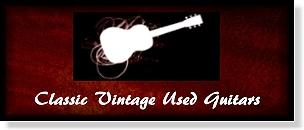 Classic Vintage Used Guitars