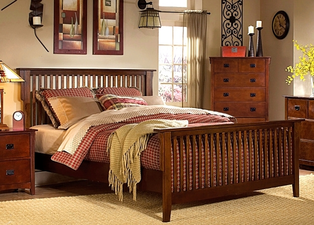 Mission furniture 39 s style a brief history for Arts and crafts bed plans