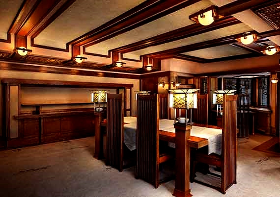Robie House dining room