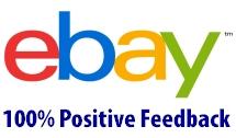 eBay 100% Positive Feedback